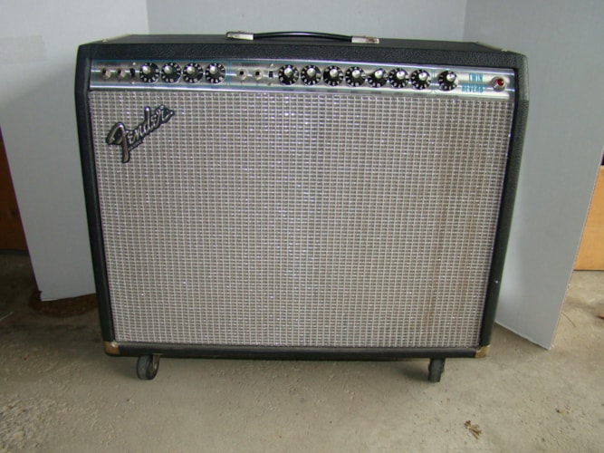 1976 Fender® Twin Reverb® Near Mint, $850.00
