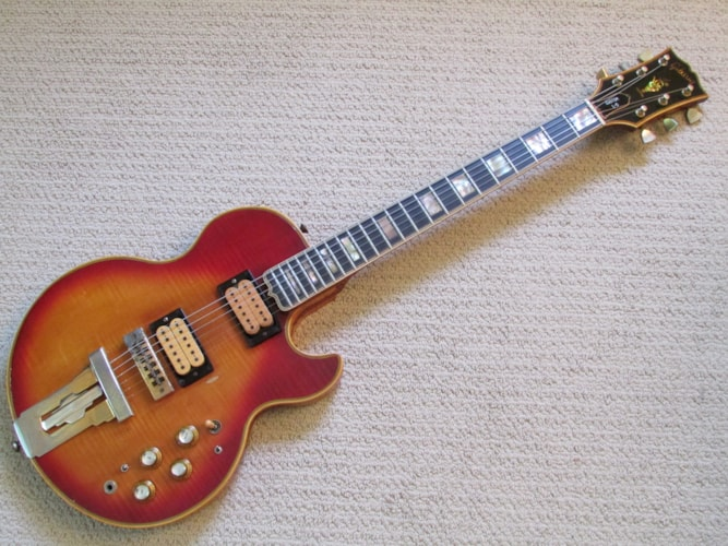 1976 Gibson L-5S Cherry Sunburst, Good, Hard, Call For Price!