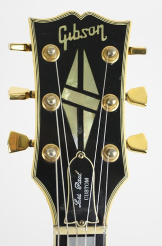 1976 Gibson Les Paul Custom Black with Gold Hardware