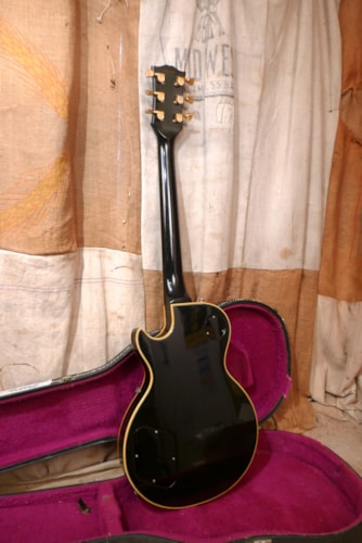 1976 Gibson  Les Paul Custom Tuxedo Black White