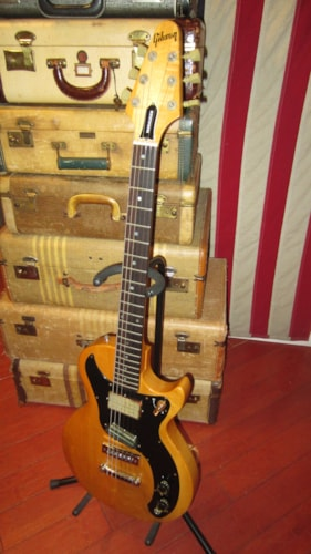 1976 Gibson Marauder Natural Clean and All Original Super Fine Example with Hard Case