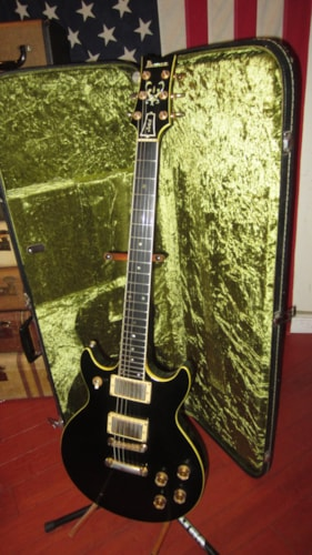 1976 Ibanez Artist Model 2618BL Black, Excellent, Original Hard, $899.00