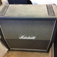 1976 Marshall 4x12 Checker Board Speaker Cab Model #1935 w/ Celestion Blac
