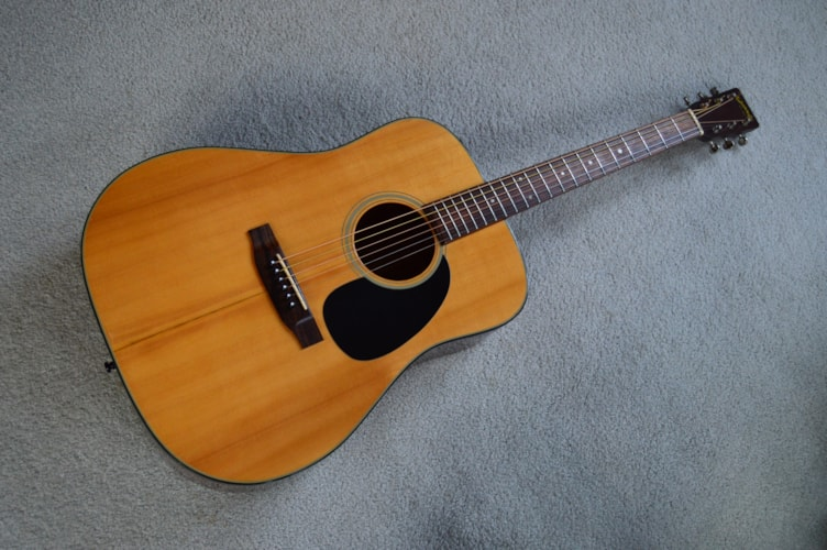 1976 Takamine F-340S Natural, Very Good, Soft