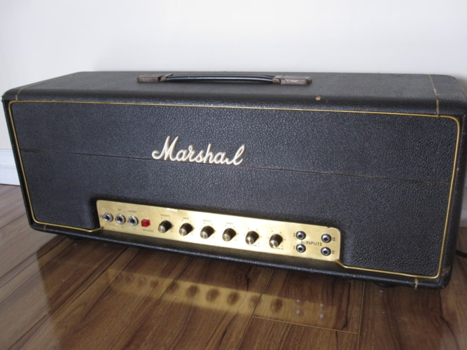 1976 VINTAGE MARSHALL JMP50 MKII 1986 BASS AMP Very Good, $1,750.00