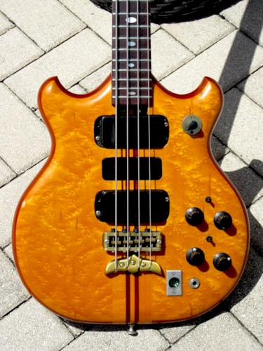 """1977 Alembic Series 1 SSB Short Scale """"Stanley"""" Bass"""