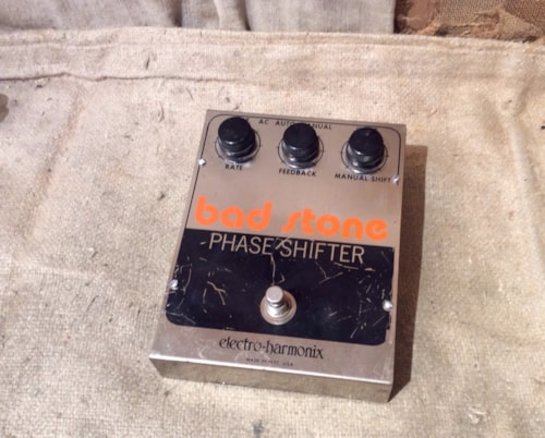 1977 electro harmonix bad stone phase shfter effects southside guitars. Black Bedroom Furniture Sets. Home Design Ideas