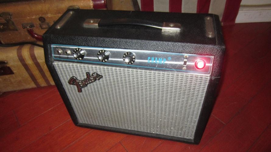 1977 Fender® Champ® Silverface, Excellent, $599.00