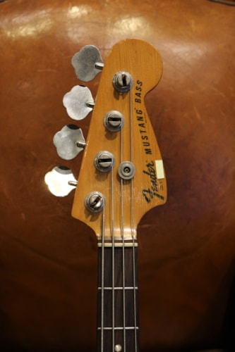 1977 Fender Mustang Bass Black