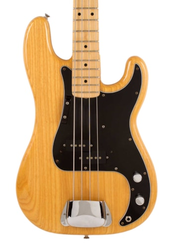 1977 Fender® Precision Bass® Natural, Excellent, Hard, $2,595.00