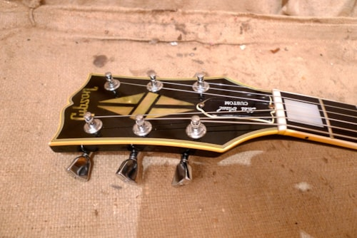 1977 Gibson Les Paul Custom Black
