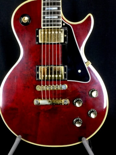 1977 Gibson Les Paul Custom Wine Red