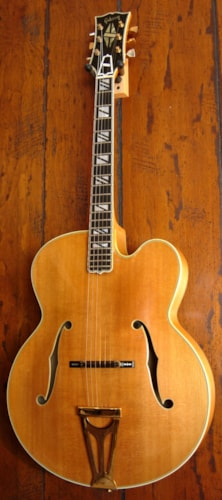 1977 Gibson Super 400CN Golden Blonde, Excellent, Original Hard, $7,800.00