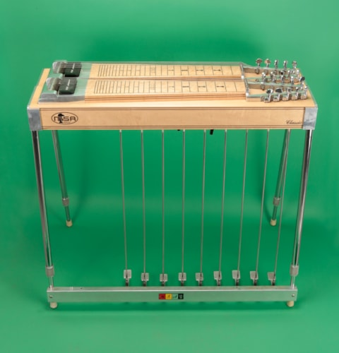 1977 MSA  Classic Pedal Steel Guitar Natural