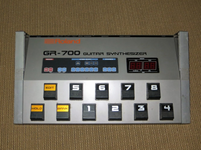 1977 Roland  G-707 grey, Very Good, Original Hard