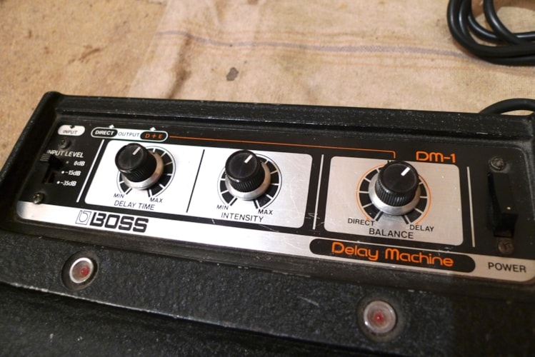 1978 BOSS DM-1 Delay Machine Very Good, $625.00