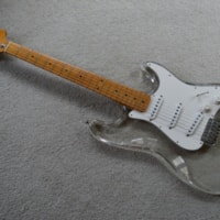 1978 ClearSound Lucite Strat copy