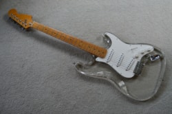 ~1978 ClearSound Lucite Strat copy