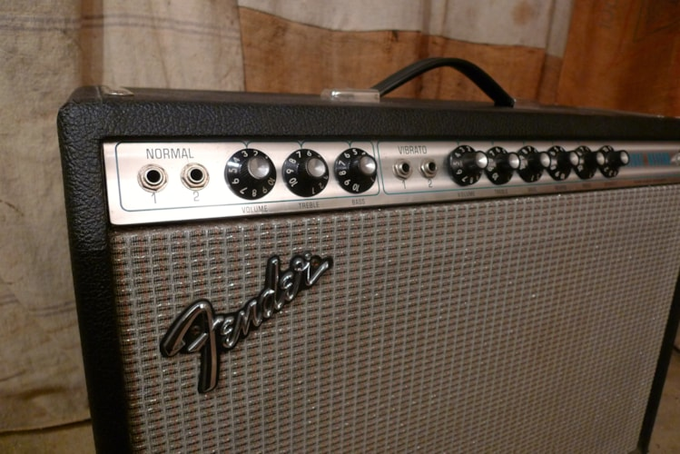 1978 Fender Deluxe Reverb Silverface, Very Good