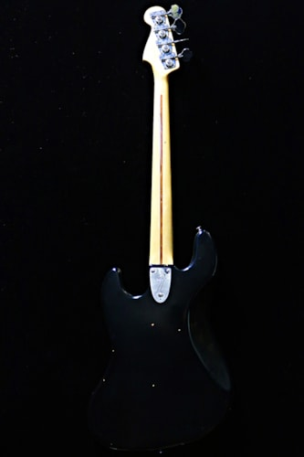 1978 Fender® Jazz Bass® Black, Excellent, Original Hard, Call For Price!
