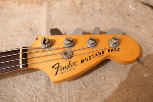 1978 Fender Mustang Bass Black