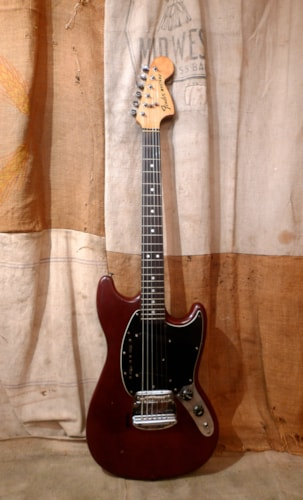 1978 Fender® Mustang® Wine Red, Good, Hard, $1,500.00