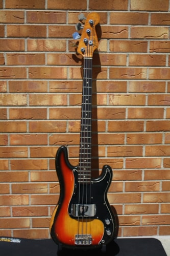 1978 Fender P-Bass Sunburst
