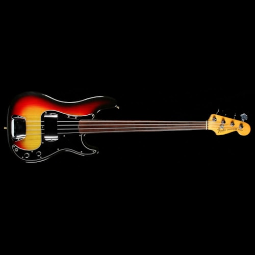1978 Fender Precision Bass Fretless Sunburst 1978 Excellent $2,199.00