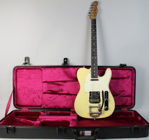 1978 Fender Telecaster With Warmoth Neck Electric Guitar w/HSC Blonde