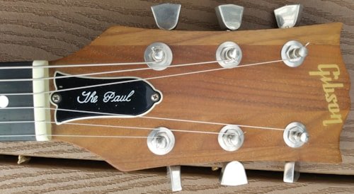 1978 Gibson The Paul T tops Walnut