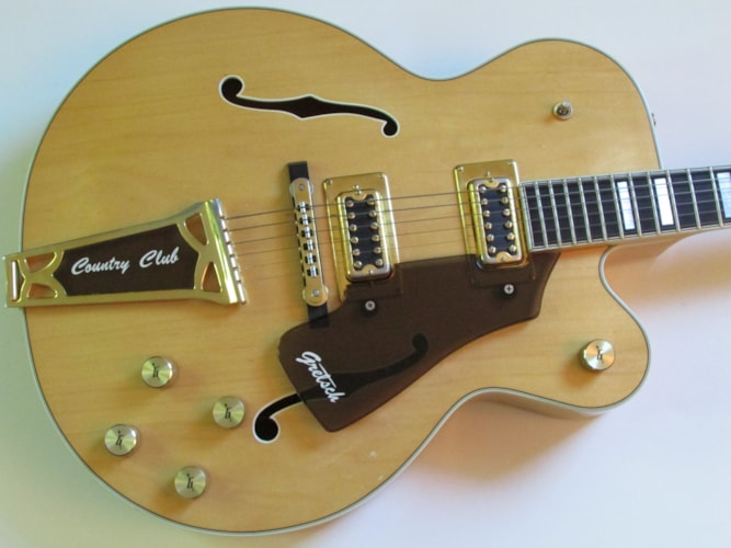 1978 Gretsch Country Club Natural, Near Mint, Hard, Call For Price!