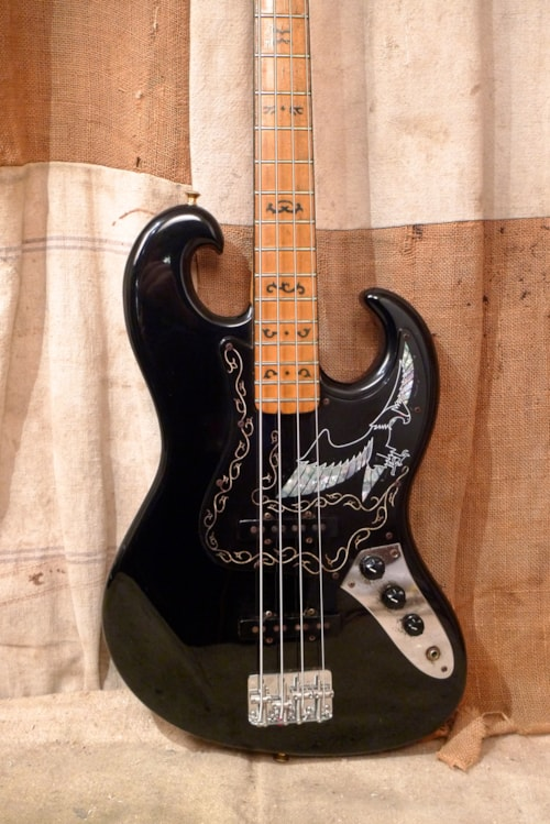 1978 Ibanez Black Eagle Black Guitars Bass Southside Guitars