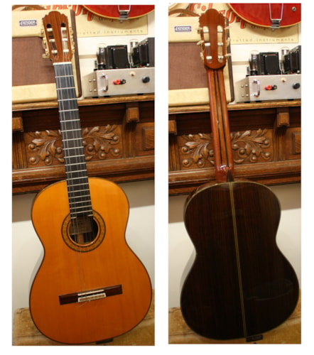1978 Kohno Model 15 Classical Guitar Excellent, Hard