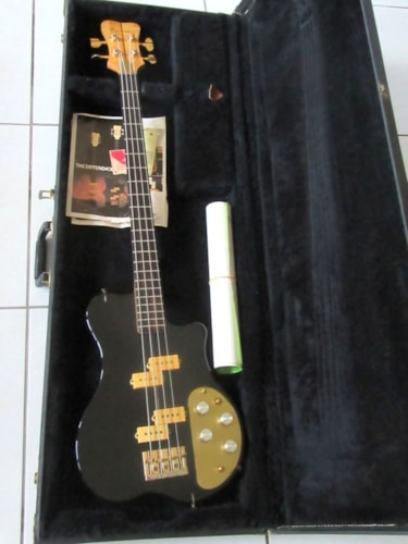 1978 RENAISSANCE SPB Bass Lucite finish, Mint, Original Hard