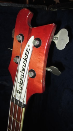 1978 Rickenbacker Model 4001 Bass Fireglo, Excellent, Hard, $2,795.00