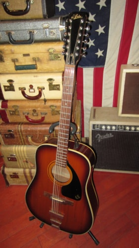 1979 Aria 12 String Acoustic Sunburst, Very Good, $499.00