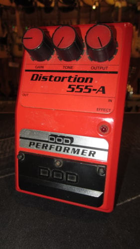 1979 DOD 555-A Distortion Red