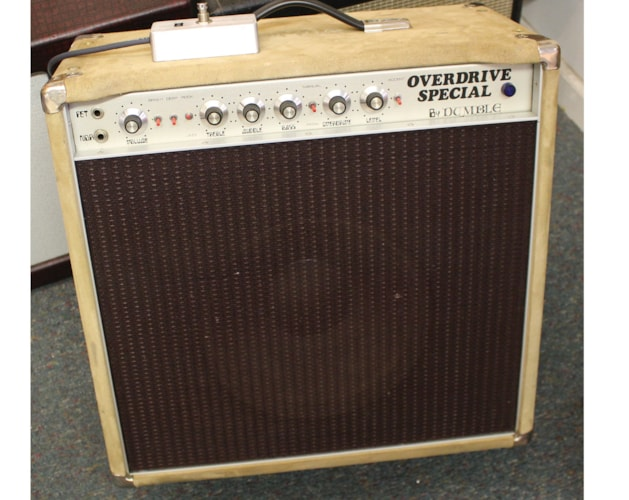 1979 DUMBLE  Overdrive Special Suede