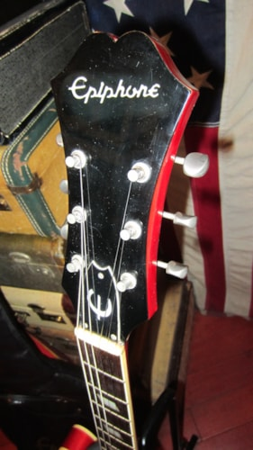 1979 Epiphone by Gibson Casino Cherry Red, Excellent, Original Soft, $1,195.00