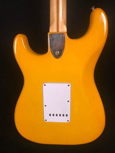 1979 Fender International Series Stratocaster Monaco Yellow