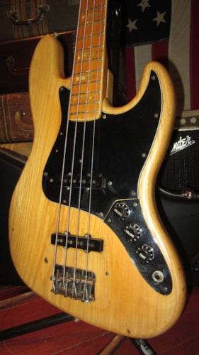1979 Fender Jazz Bass Natural, Excellent, Hard, $2,199.00