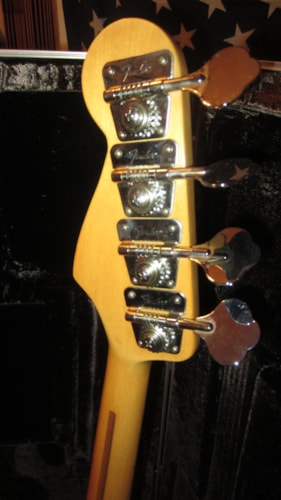 1979 Fender® Precision Bass® Sunburst, Excellent, Original Hard, $1,999.00