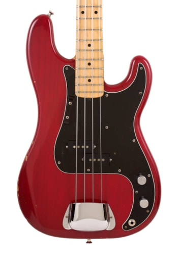 1979 Fender® Precision Bass® Trans Red, Excellent, GigBag, $2,495.00