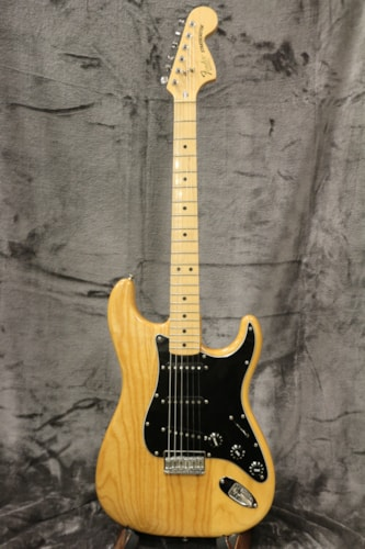 1979 Fender Stratocaster Hardtail Natural