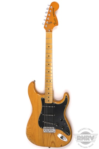 1979 Fender Stratocaster Natural, Very Good, $1,895.00