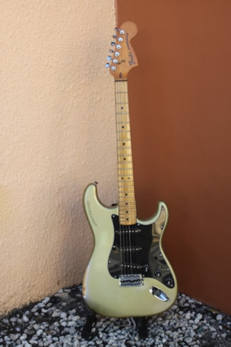 1979 Fender Stratocaster Silver, Very Good, Hard, $2,395.00