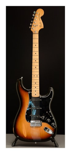 1979 Fender Stratocaster Sunburst, Very Good, Hard