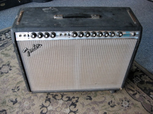 1979 Fender® Twin Reverb® amp SILVERFACE, Very Good