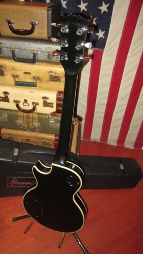 1979 Gibson LES PAUL CUSTOM Black Beauty, Excellent, Original Hard, $3,499.00