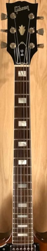 1979 Gibson SG Standard Left Hand Version Walnut, Very Good, Hard, $1,975.00